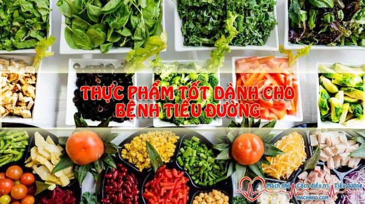 Những thực phẩm tốt cho bệnh nhân tiểu đường