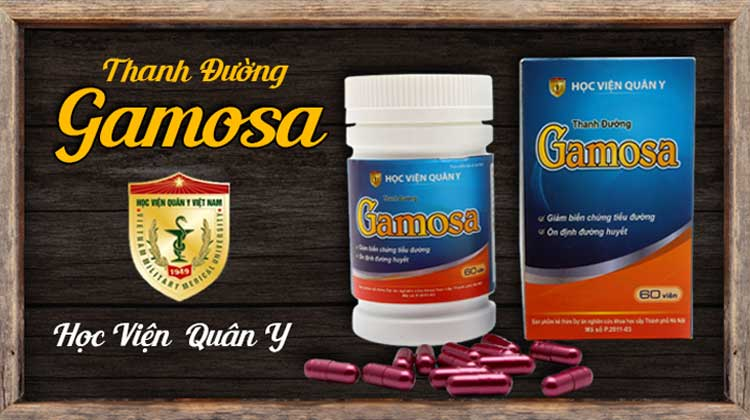 Thanh đường Gamosa Học Viện Quân Y hỗ trợ điều trị tiểu đường